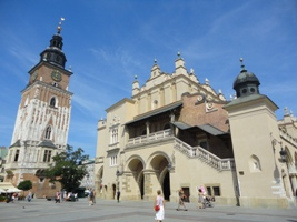 Sightseeing in Krakau, Polen